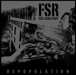 full scale riot depopulation album cover