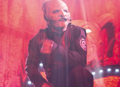Corey Taylor of Slipknot. Copyright Megan Kennedy // abuseofreason.com