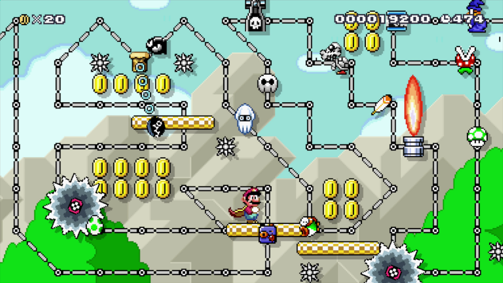 Super Mario Maker: Some trolls leave comments. Others make levels like this.