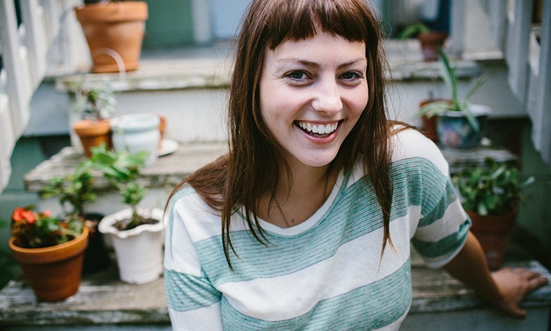 Angel Olsen possesses a prowess and mystique onstage that can make her seem otherworldly, but just as much as she is a performer, she is herself. Photo: Kelly Giarrocco