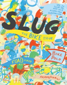 SLUG Magazine May 2013 Issue Cover