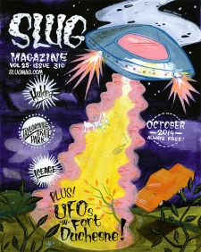 SLUG Magazine October 2014 Issue Cover