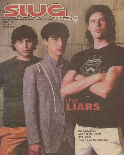 Issue 183 - March 2004 cover art