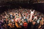 Local Juggalos getting down with The Clown during ICP's Utah show. Photo: Dave Brewer