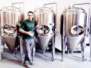 Shades of Pale owner Trent Fargher's beers will debut in Utah this summer. Photo: David Newkirk