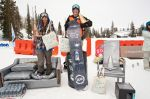 Women's Board winners (L to R)� Grace Mayernick 3rd, Marley Colt 1st, Nicole Roccanova 2nd (Not Pictured). Photo: Gagethompson.com