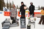 Men's Open winners (L to R)� Brady Larsen 3rd, Cameron Gorby 1st, Jeff McGrath 2nd.  Photo: Gagethompson.com