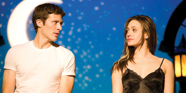 Emmy Rossum and Zach Gilford of Dare