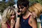 "Juno Temple, Thomas Dekker and Haley Bennett in the film ""Kaboom"". Photo by Marianne Williams."