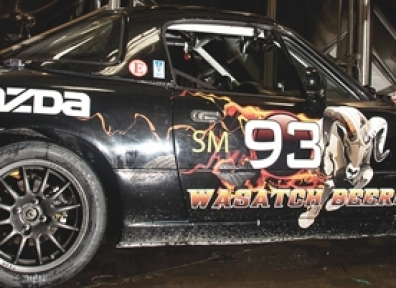 High Octane Meets High Point: Wasatch's Devastator Race Car