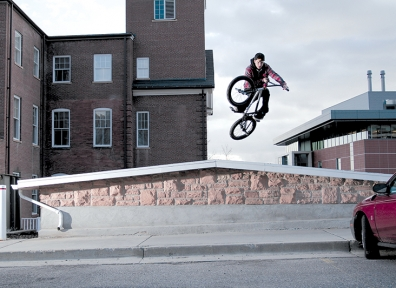 Benson and Ledges: Cameron Giles Lights Up the Street Scene