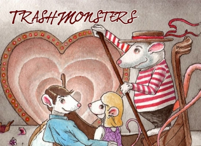 Review: Trash Monsters – There's a Rat in the Tunnel of Love