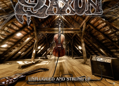 Review: Saxon – Unplugged and Strung Up