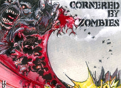 Local Review: Cornered By Zombies – Hurry Up and Wait
