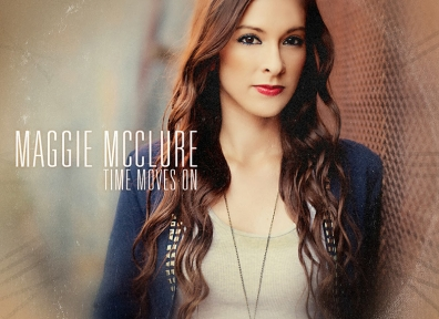 Review: Maggie McClure – Time Moves On