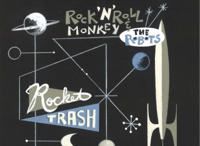 Review: Rock n' Roll Monkey & the Robots – Rocket Trash/ Strings & Traps LP