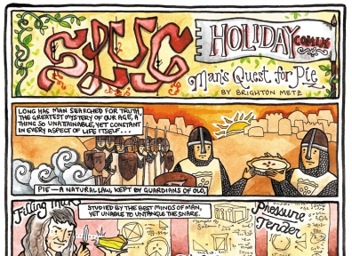 SLUG Holiday Comix