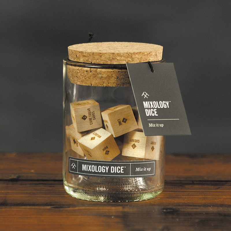 Two Tumbleweeds' Mixology Dice are a great way to get out of one's usual cocktail-making rut, challenge drinkmaking skills or get creative with mixed drinks.