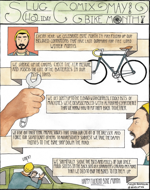 Bike Month Holiday Comix