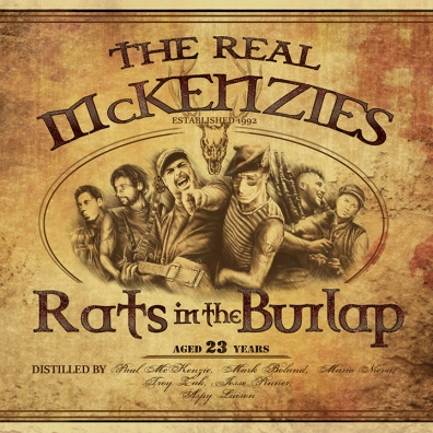 Review: The Real McKenzies – Rats in the Burlap