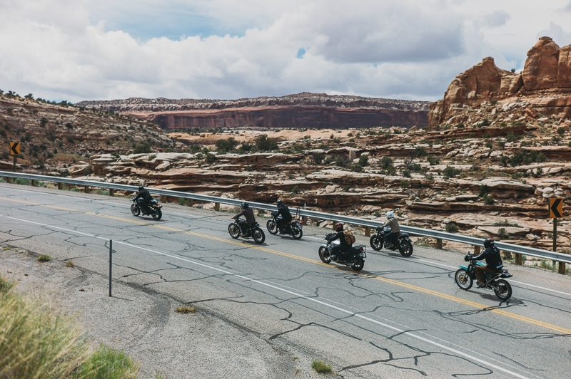 Motos in Moab