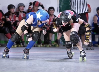 Wasatch Roller Derby's Midnight Terrors vs. Slaughterhouse Roller Derby's Prime Cuts 06.26