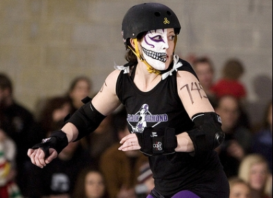 Wasatch Roller Derby: Black Diamond Divas vs. Hot Wheelers 02.18