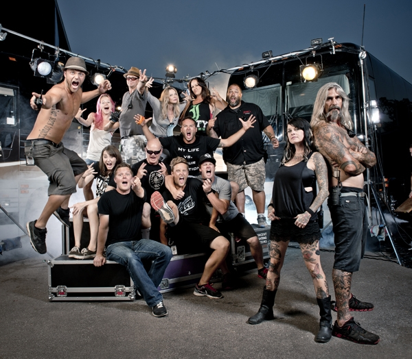 Road warriors meet the muscle behind the vans warped tour slug tune in to warped roadies every friday at 11pm et on fuse photo fuse m4hsunfo