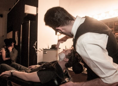 Jed's Barber Shop Movember Gala @ SLC Photo Collective 11.30