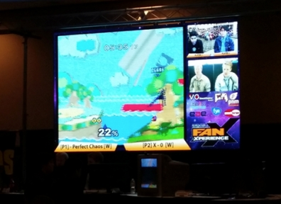 FanX 2014: Smash Bros Heats Up the FanX Game Room