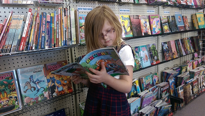 Women in comics A Girl Walks Into A Comic Book Store