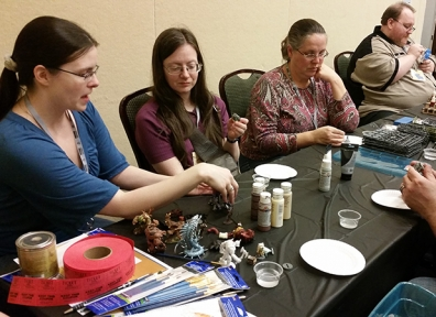 SaltCon 2015: Figurine Painting