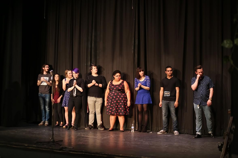 Sponsored by Wasatch Wordsmith, the 2015 Salt Lake Poetry Slam Finals took place at the Broadway theatre.