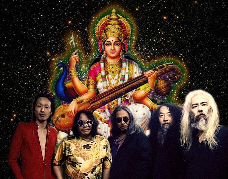 Acid Mothers Temple brought a lethal dose of psychedelic blowout to the Urban Lounge on April 24.