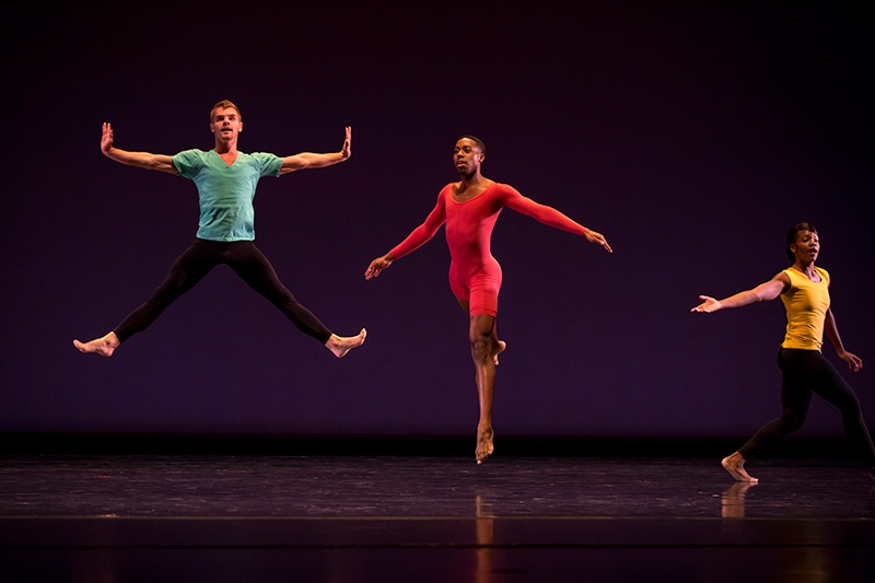 The Repertory Dance Theatre began its 50th anniversary celebration with REUNION.