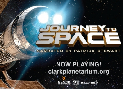 Journey to Space 3D @ Clark Planetarium