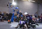Bonneville Bone Crushers vs. Magic City Rollers. Photo: O'Durgy