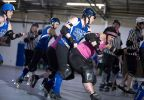WRD: Midnight Terror vs. Pikes Peak Derby Dames. Photo: O'Durgy