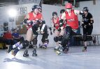 WRD: Black Diamond Divas vs. Hot Wheelers. Photo: O'Durgy