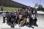 Group photo: Low Card, Blood Wizard and Heavy Wheels teams with everyone who came out. Photo: Katie Panzer