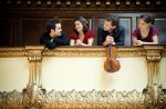 The Elias Quartet conveyed each composer's piece in a way that either riled up the audience's emotions or sent them into a pensive relaxation mode. Photo: Benjamin Ealovega
