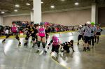 Molly Morbids vs. Salt City Derby Girls. Photo: Sh00ter