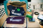 The Weekenders prepared with merch. Photo: Martin S Rivero