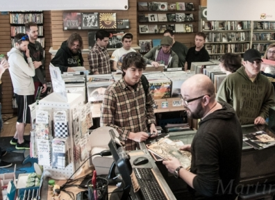 Record Store Day 2014 @ University Graywhale 04.19