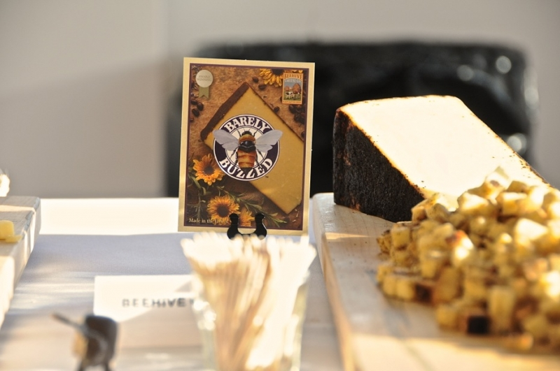 Beehive Cheese Company's Barley Buzzed was perfectly delicious. Photo: Martin Rivero