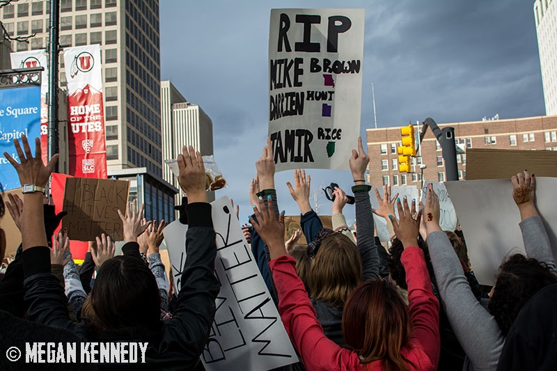 SLC to Ferguson: Protest Against Police Brutality 11.29