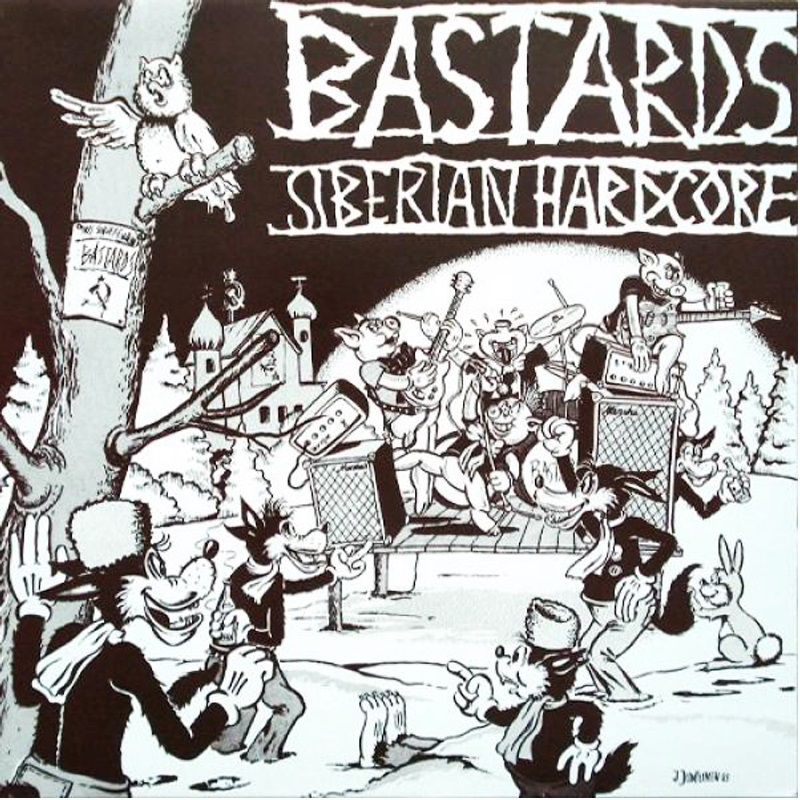 Review: Bastards – Siberian Hardcore CD
