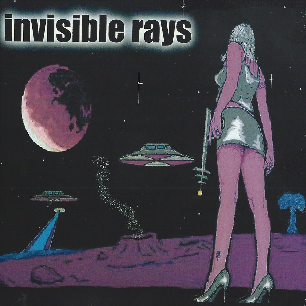 Local Review: The Invisible Rays – Self-Titled
