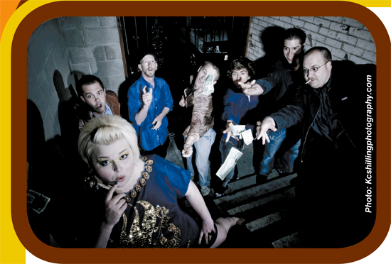 Localized: The Radio Rhythm Makers, Kate LeDeuce and the Soul Terminators, and The Boomsticks. – June 2009