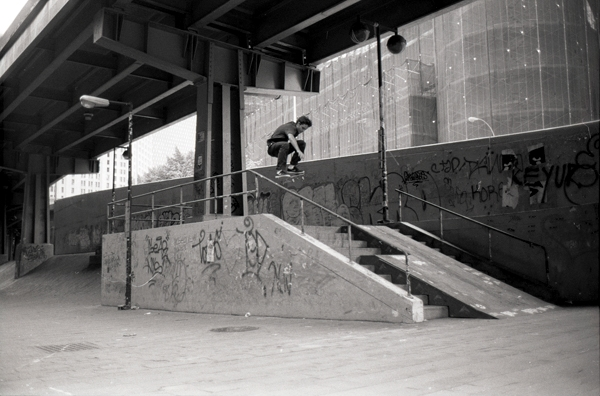 """""""Yes, I went to the Brooklyn Banks. If you go to New York to skateboard, it's mandatory that you go there."""""""
